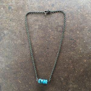 World Market Turquoise Necklace
